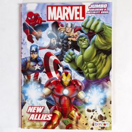 24 Units of Coloring Book Marvel New Allies - Coloring & Activity Books