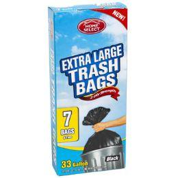 24 Units of Trash Bags 7ct - 33 Gallon xl - Garbage & Storage Bags