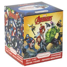 24 Units of Facial Tissue 85ct Marvel - Tissues