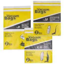 72 Units of Vacuum Bags 2pk Assorted - Cleaning Supplies