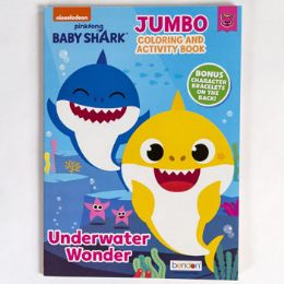 24 Units of Coloring Book Baby Shark - Coloring & Activity Books