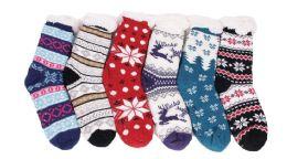 180 Units of Ladies Long Sock - Womens Slipper Sock