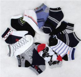 300 Units of BOY SOCKS 4-6 - Boys Ankle Sock