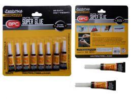 144 Wholesale 8 Pc Super Glue