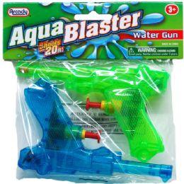 """96 Units of 2PC 5.25"""" WATER GUN IN POLY BAG - Water Guns"""