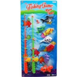 12 Units of 8PC FISHING PLAY SET - Summer Toys