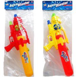 """12 Units of 19"""" WATER GUN IN POLY BAG - Water Guns"""