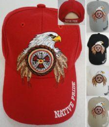 24 Units of Native Pride Eagle Hat - Hunting Caps