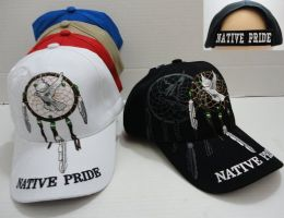 24 Units of Native Pride Hat with Dream Catcher - Hunting Caps