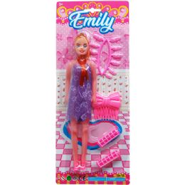 """36 Units of 11"""" EMILY DOLL W/ ACCSS - Dolls"""
