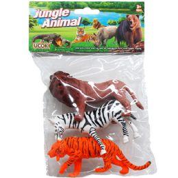 72 Units of PLASTIC WILD ANIMALS - Animals & Reptiles