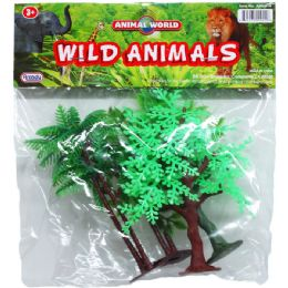 72 Units of 4PC ASSRT PALMS AND TREES - Animals & Reptiles