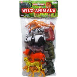 12 Units of 10PC WILD TOY ANIMALS SET - Animals & Reptiles