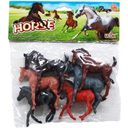 48 Units of PLASTIC HORSES - Animals & Reptiles