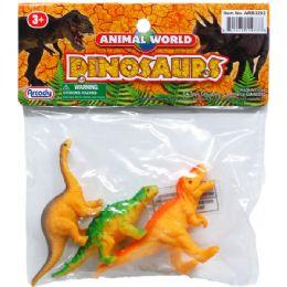 72 Units of PLASTIC DINOSAURS - Animals & Reptiles
