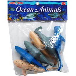 24 Units of OCEAN TOY SHARKS - Animals & Reptiles