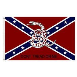 24 of DON'T TREAD ON ME Flag Rebel Flag