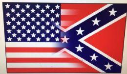 24 of Half And Half Confederate American Flag