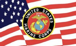 12 of Licensed United States Marine Corps Flag