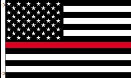 24 of Red Lives Matter Flag