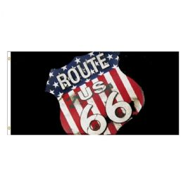 24 of Route 66 Flag
