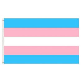 72 of Trans Pride Flag Blue Pink And White