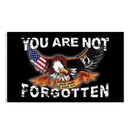 72 of You Are Not Forgotten MIA Flag Eagle