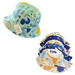 24 Wholesale Bucket Hat Boys Assorted Prints