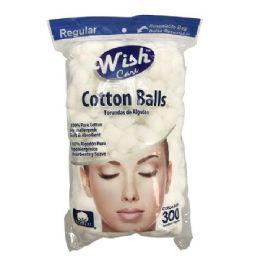 72 Bulk 300 Count Cotton Balls