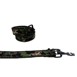 24 Units of Belt Canvas Belt with Holes All Sizes Camo - Belts