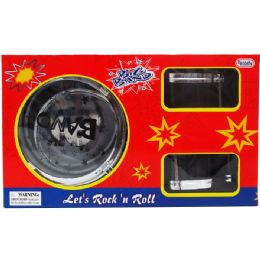8 Bulk 6PC BIG BAND DRUM PLAY SET IN WINDOW BOX