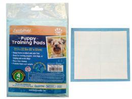 72 Wholesale 4PC Puppy Training Pads