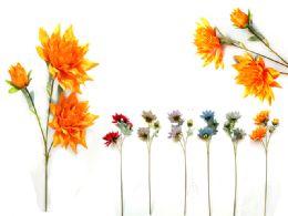 96 Units of Dahlia 3flo - Artificial Flowers