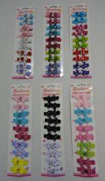72 Wholesale 10 Piece Child's Hair Clip Assorted