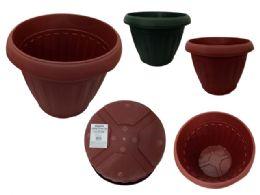 12 Units of Jumbo Flower Pot Planter - Garden Planters and Pots