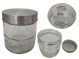24 Wholesale Glass Storage Jar