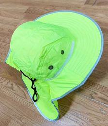 24 Units of Summer Hat In Assorted Color With Wide Brim - Sun Hats