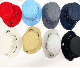 36 Wholesale Assorted Color Bucket Hats