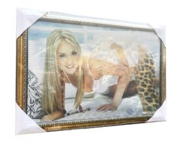 12 Units of Leopard And Lady Canvas Picture Wall Art - Wall Decor