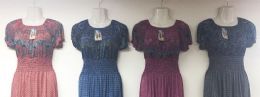 12 of Lady's Summer Maxi Dress Assorted Color And Size