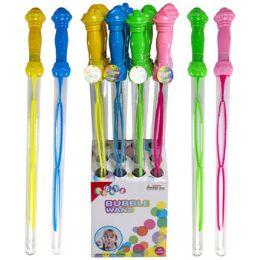 12 Units of Bubble Wand 24in 4ast 9.1 Fl Oz 12pc - Bubbles