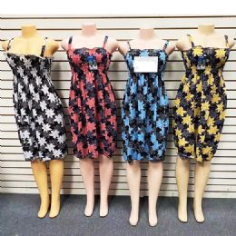 12 of Short Spaghetti Strap Dress For Women Summer Assorted Color And Size