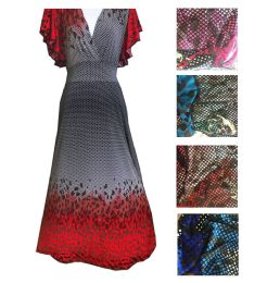 12 of Womens Long Dress In Assorted Color And Size