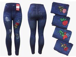 12 of Womens Rose Leggings