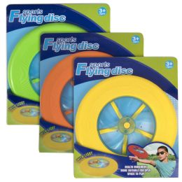 50 Units of Flying Disc - 3 Assorted Colors - Toys & Games