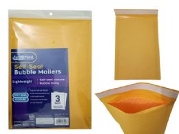 96 Wholesale 3pc Self-Seal Bubble Mailers 2#
