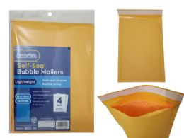 96 Wholesale 4pc Self-Seal Bubble Mailers 0#