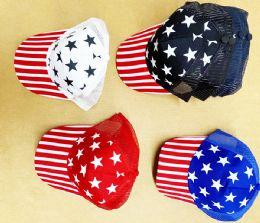 36 Wholesale Flags Mesh ball Cap