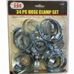 36 Units of 34 Pieces Hose Clamp Set - Clamps