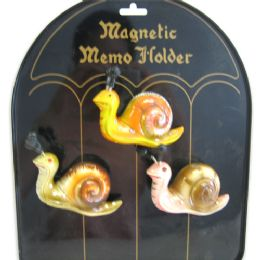 144 Units of Fridge Magnet Snail - Refrigerator Magnets